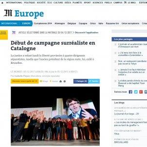 le monde inici campanya catalunya