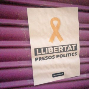 Llibertat presos politics cartell negoci mare Albert Rivera / Europapress