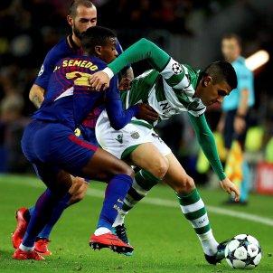 Semedo Aleix Vidal Barça Champions Sporting EFE