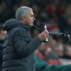 José Mourinho entrenador Manchester United Champions   EFE