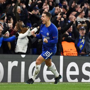 Eden Hazard Chelsea Atletico Madrid Champions   EFE