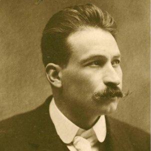 Mor el mestre Millet, co fundador de l'Orfeó Català. Fotografia de Millet (finals del segle XIX). Font Orfeó Català