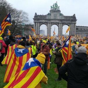 Brussel·les manifestació Pilar Lasalas