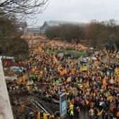 manifestacio brusselles julia farre