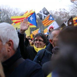 Puigdemont manifestació Brussel·les ACN