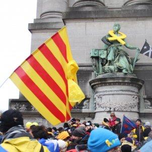 Manifestació Brussel·les - Júlia Farré