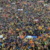 Manifestacio Brussel·les estelada - Efe