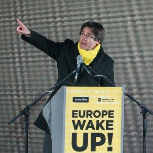 Manifestacio Brussel·les Puigdemont - Efe
