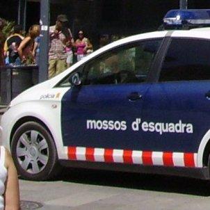 Vehicle Mossos d'Esquadra