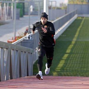 Javier Mascherano entrenament Barça   FCB