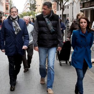 Rajoy Albiol Levy PP EFE