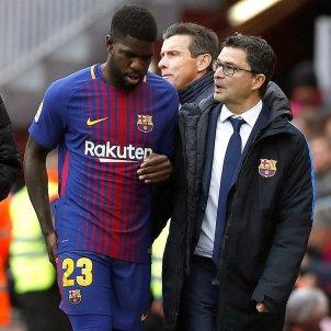 Samuel Umtiti lesio Barça Celta   EFE