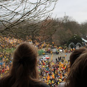 Manifestació independentista Brussel·les - Júlia Farré