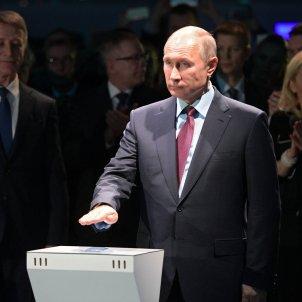 Putin gas natural - Efe