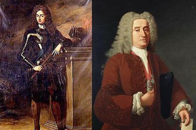 El duc de Berwick i José Patiño. Font Viquipèdia