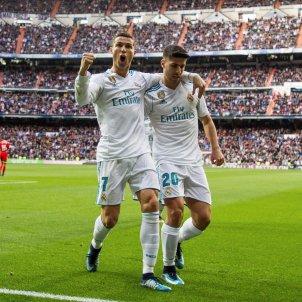 Cristiano Ronaldo Marco Asensio Madrid Sevilla   EFE