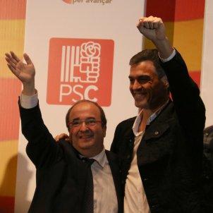 Miquel Iceta Pedro Sánchez Mataró 20171209