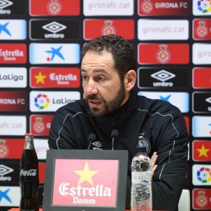 Machín Roda de premsa previa espanyol GIRONA FC