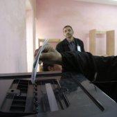 Dona Iraqi votaa Rawah 1a elecció parlamentària (Shane S. Keller)