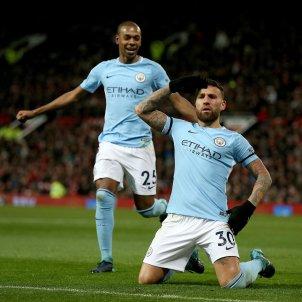 Otamendi Silva Manchester City United EFE