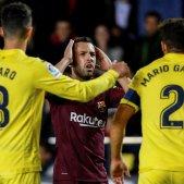 Jordi Alba Barça Vilarreal Lliga   EFE