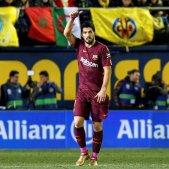 Els pals no aturen Messi ni Luis Suárez (0-2)