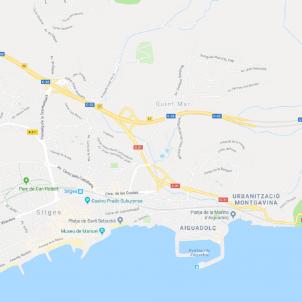 c31 sitges google maps