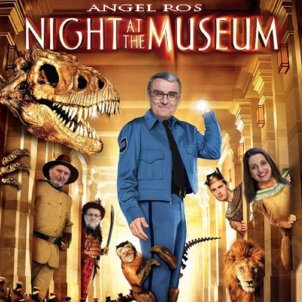 àngel ros night at the museum @pepandorra twitter
