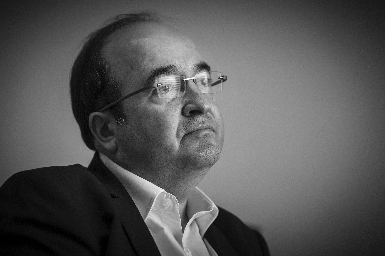 Miquel Iceta PSC BW - Sergi Alcazar