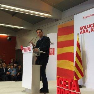 Pedro Sánchez sabadell Albert Acín