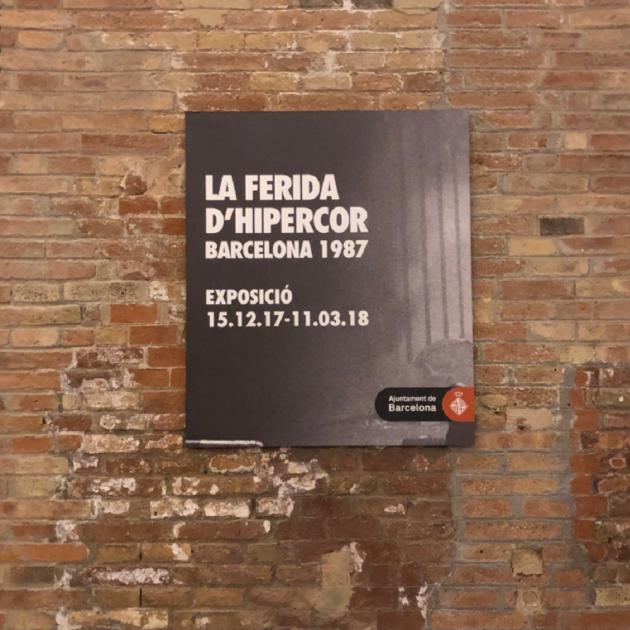 Una exposición recuerda el atentado de Hipercor 30 años después 920eb016ebd