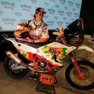 Laia Sanz Dakar presentació   Aleix Torres