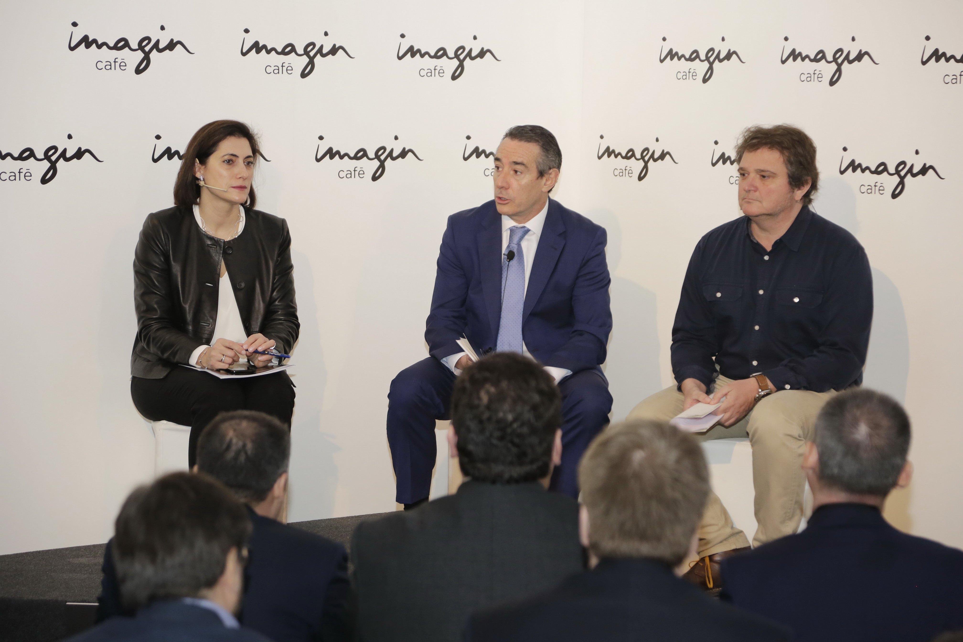 imaginCafe presentació juan alcaraz caixabank