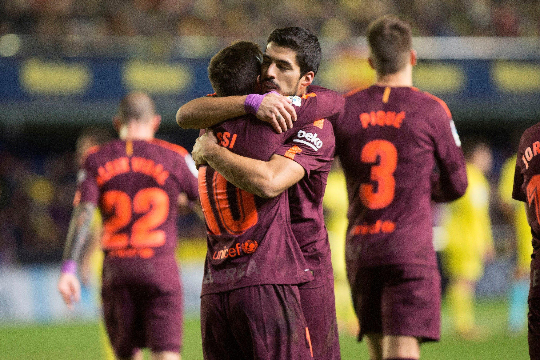 Luis Suarez Leo Messi Barça Vilareal   EFE