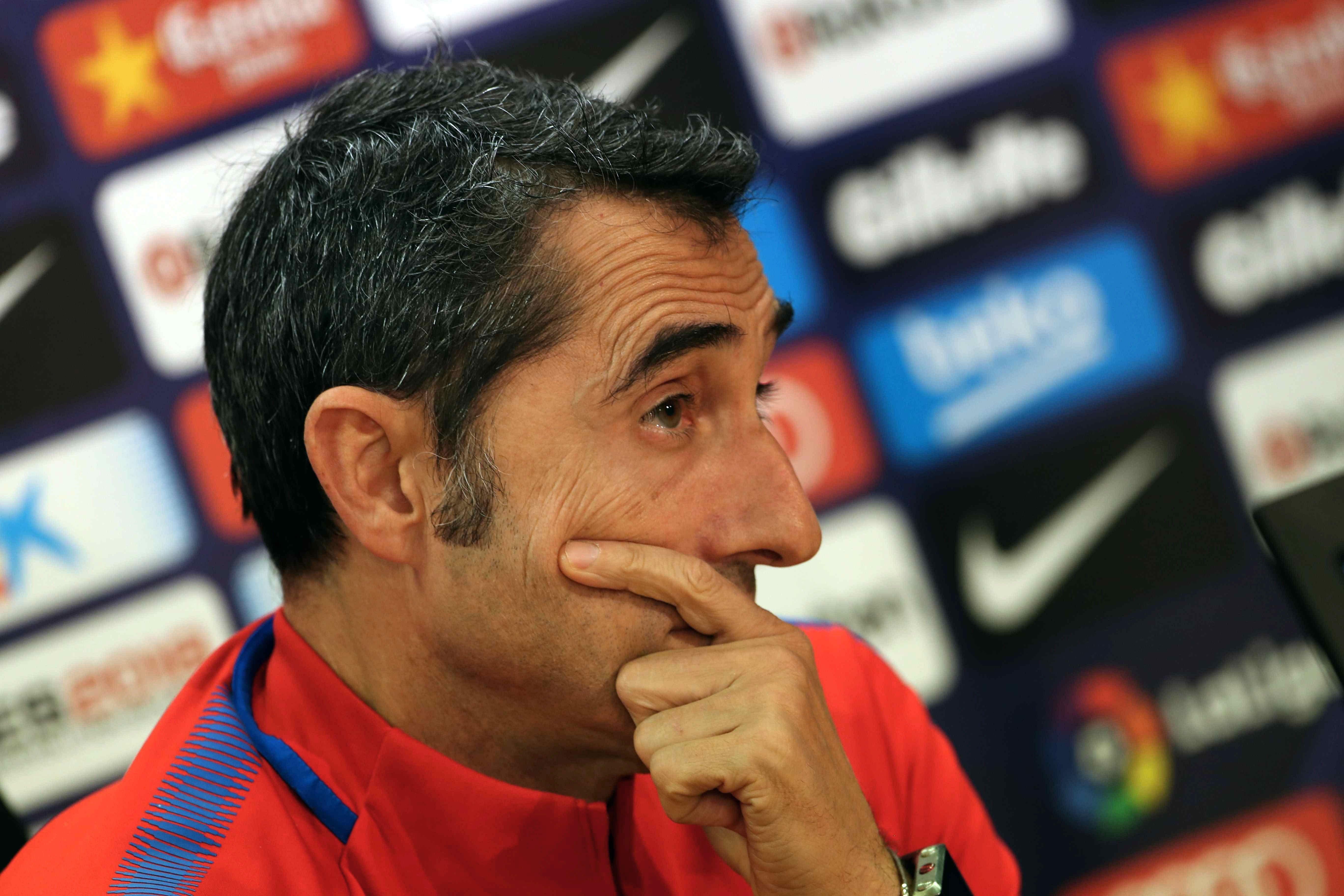 Ernesto Valverde Barça entrenador roda premsa   EFE