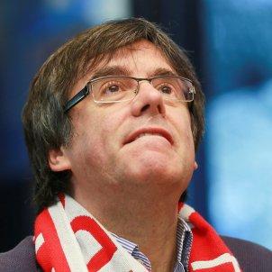Carles Puigdemont Girona futbol Brussel·les Efe