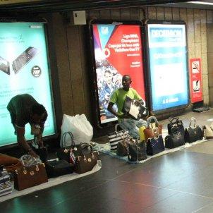 Manters a l'estació de Rodalies i Metro de Plaça Catalunya / ACN