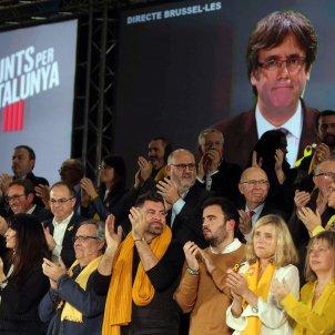 Puigdemont i Junts per Catalunya Efe