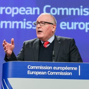 frans timmermans comissio europea efe