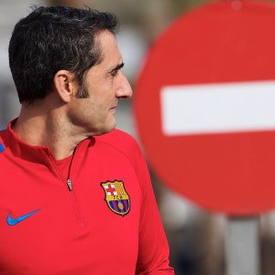 Ernesto Valverde prohibit Barça Efe