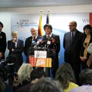 Puigdemont valora 21-D a Brussel·les l'endemà de les eleccions ACN