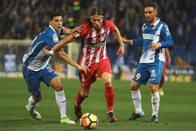 Espanyol Atletic de Madrid Filipe Luis   EFE