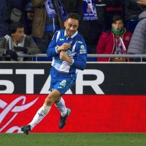 Sergio García gol Espanyol Aarón Atlètic de Madrid   EFE