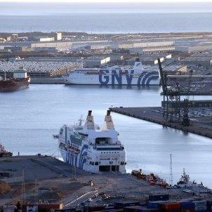 Port de Barcelona vaixells policia espanyola - ACN