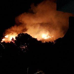 incendi forestal castelldefels ACN