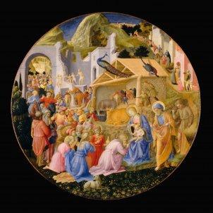 Fra Angelico Filippo Lippi Adoration Reis Mags Wikimedia