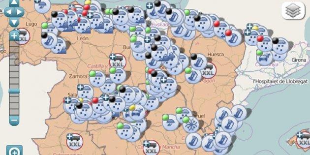 Catalunya Ya Es Independiente En Los Mapas De La Direccion General