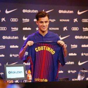 Philippe Coutinho presentació Barça   Sergi Alcàzar