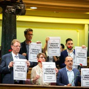 PDeCAT clavells Congrés dels Diputats - ACN