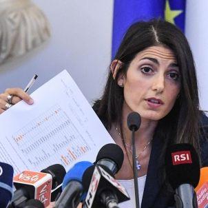 Virginia Raggi  alcaldesa de Roma - EFE